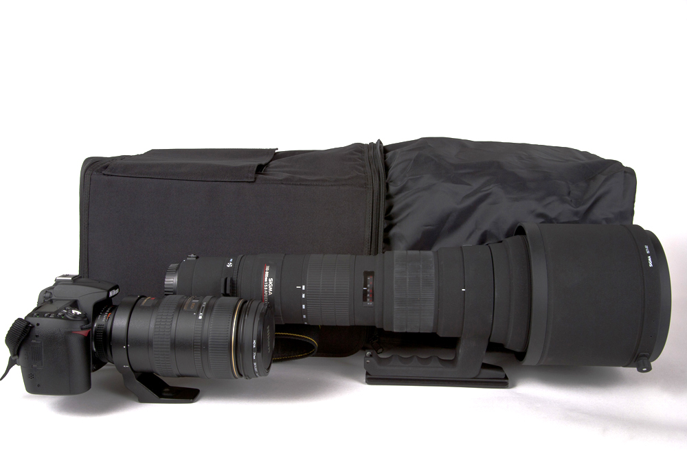 Ionosgear with 800mm lens