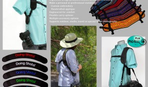 Camera Strap with engineered for comfort offered personalized, custom options