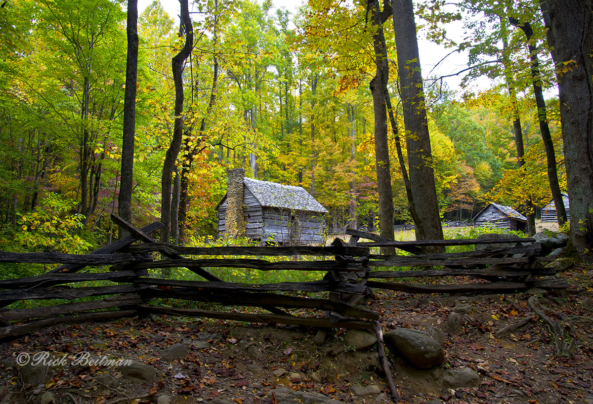 Cabin Homestead at Roaring Fork, Smokey Mountains: Nikon D-800